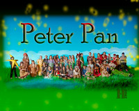 2014 WRPS Theatre Poster PETER PAN - 8x10