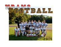 WRAMS Football Fall 2014 - Team White - mat