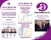 Duncan Disability Law, S.C. since 2016